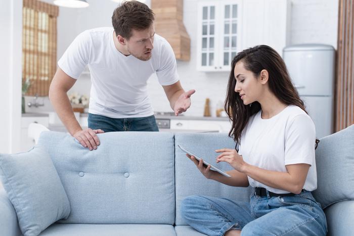 Муж подал на развод